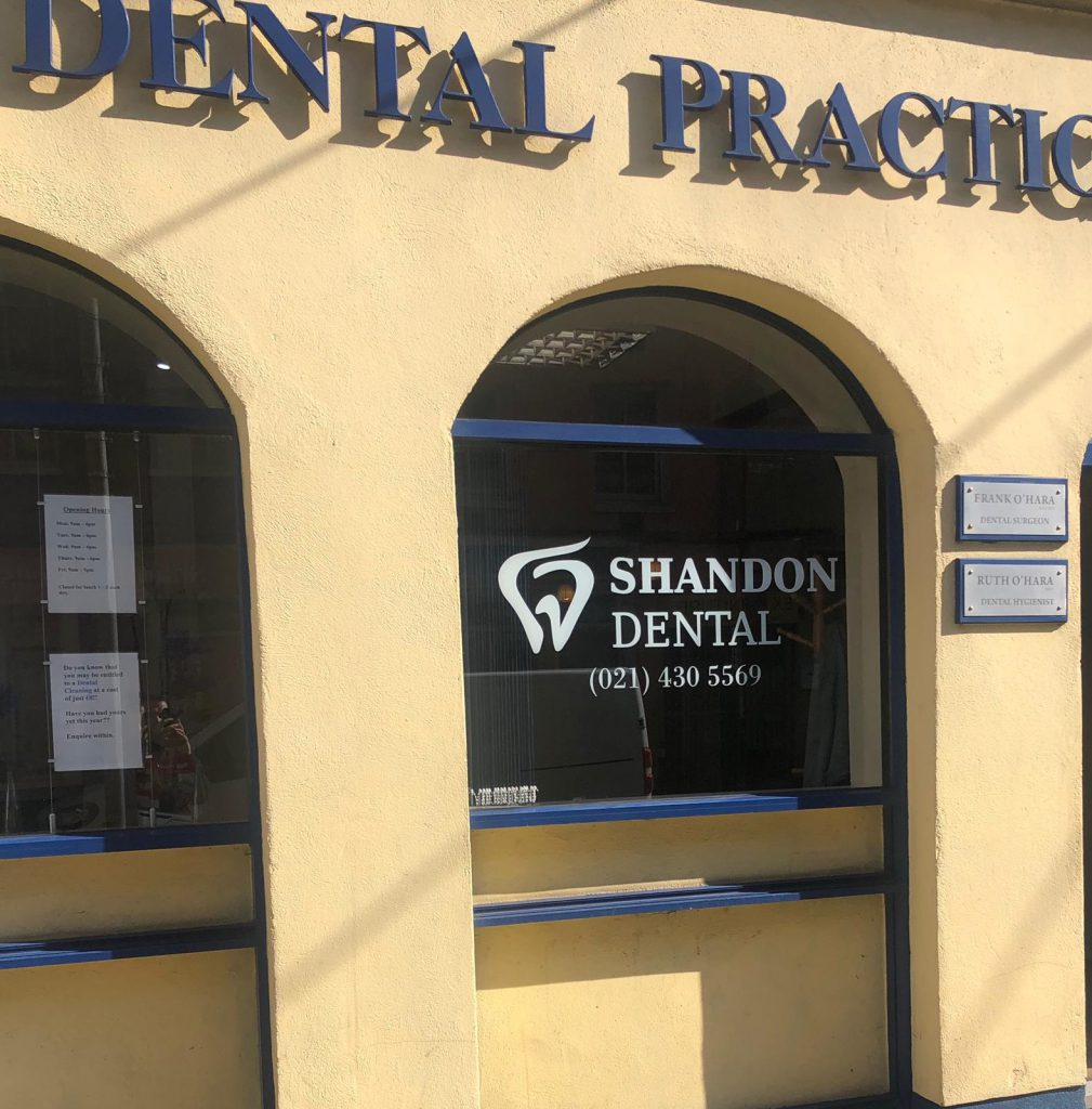 Make and appointment at Shandon Dental today - composite bonding available