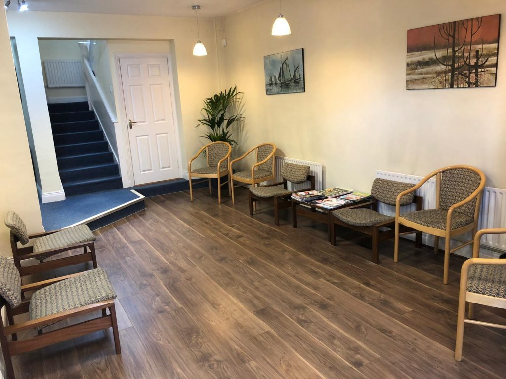 Shandon Dental - Dentist waiting room