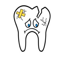 Broken tooth / teeth